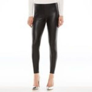 Lauren Conrad Faux Leather Pants - Small
